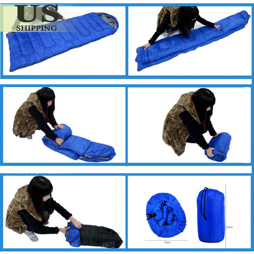 Image 51 - Waterproof-Sleeping-Bag-Outdoor-Survival-Thermal-Travel-Hiking-Camping-Envelope