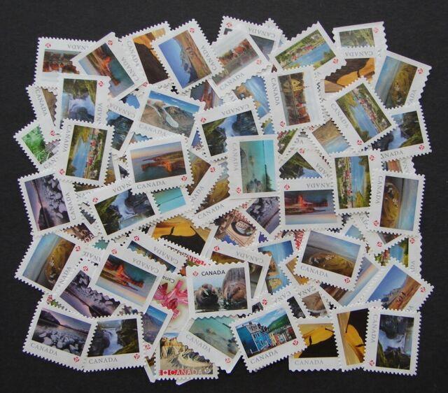 100 P Stamps - Uncancelled - Mint No Gum