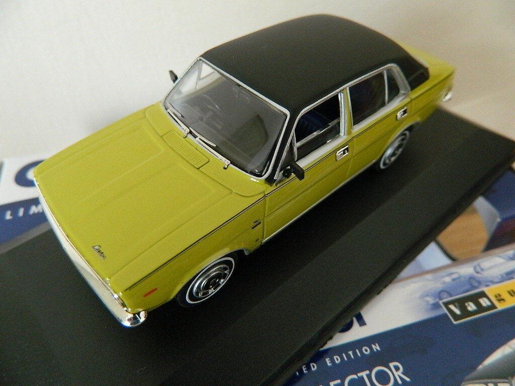 Vanguards Corgi VA06310 Morris Marina 1.8 TC 'Jubilee' Citron