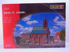 """LOT 42903   Faller H0 130599 Kirche """"St. Johann"""" Bausatz NEU in OVP"""