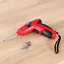 Rechargeable Cordless Screwdriver w// Bit Set and AC Adapter Charger NEW