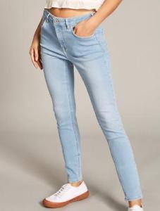 Jack Wills fernham Super Skinny Jeans pour Femme Femmes Taille UK 27R Bleu Glace REF99