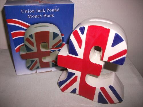 Neuf Emballé Rouge Blanc /& Bleu Union Jack Drapeau Britannique Livre en Forme de