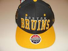 cf2d3a9c2 Boston Bruins Zephyr Gray Superstar Snapback Hat Cap NHL Hockey Adjustable
