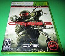 Crysis 3 -- Hunter Edition Microsoft Xbox 360 *Factory Sealed! *Free Shipping!
