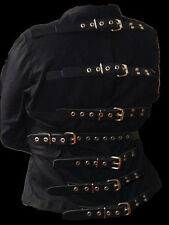 Straight Jacket straitjacket with leather straps medium