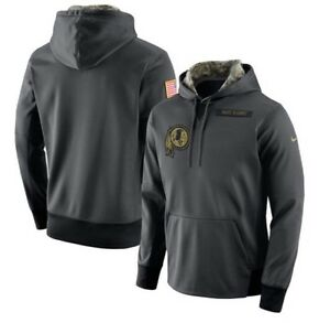 new concept fbcc4 0c0e3 Details about Nike Washington Redskins Salute To Service Hoodie 2016  Authentic (Various Sizes)