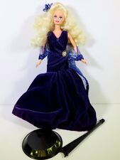 NEW DRESSED BARBIE DOLL 1995 SOCIETY STYLE SAPPHIRE DREAM