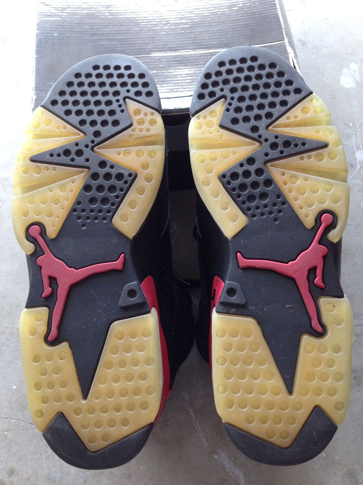 Air Jordan 6 Retro Black/Varsity Red 2018 Size 12
