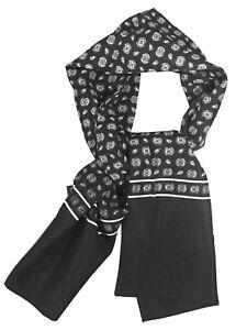 Men's Luxury Micro Weave Polyester Ultra Warm Scarf Cravat Feels Like Silk Hoher Standard In QualitäT Und Hygiene Kleidung & Accessoires