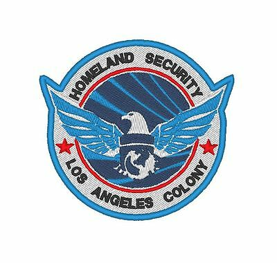 """COLONY /"""" LAB LOS ANGELES BLOC /"""" PATCH EMBROIDERED E0126 TV//MOVIE PATCH"""