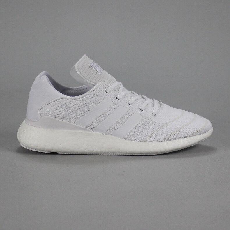 Adidas Busenitz Boost Skate Scarpe da ginnastica Pure Scarpe in Bianco Taglia