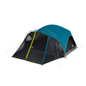 Coleman (6-Person) Carlsbad Dark Room Dome Camping Tent with Screen Room.....!!!