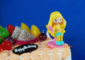 Strawberry Shortcake Lemon Meringue Life is Delicious Figur Tortenfigur K1058_B