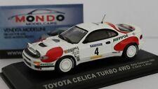 Toyota Celica Turbo 4Wd Rally Catalunya 1992 Sainz #4 Edicola 1:43 Dearally06