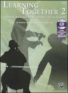 Learning-Together-for-Cello-2-Sheet-Music-Book-with-CD-Solo-or-Ensemble