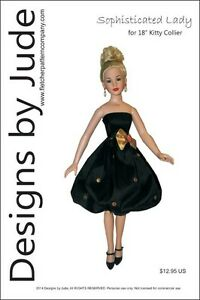 Sophisticated Doll Clothes Sewing Pattern for American Model Tonner