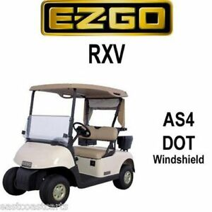 EZGO RXV Fold Down Street Legal AS4 DOT Windshield | eBay Street Legal Golf Cart Windshield on street-legal atv, street-legal yamaha rhino, street-legal lsv off-road, street-legal carts florida, street legal gas carts, electric utility carts, street-legal kart plans, street-legal utility carts, electric powered street-legal carts, california street-legal electric carts, street-legal vehicles, street-legal electric carts prices, lsv carts, ezgo carts, electric passenger carts,