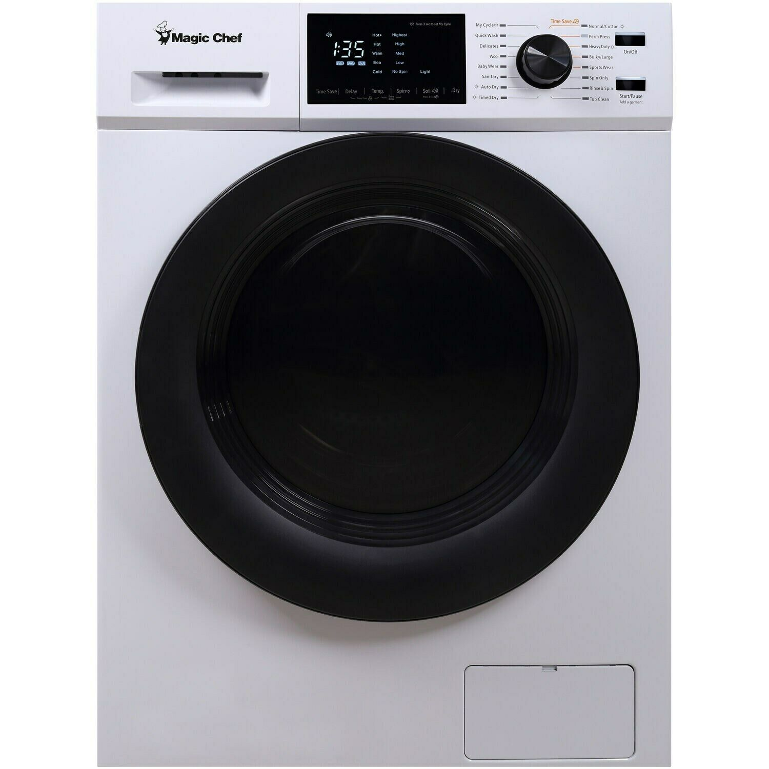 Magic Chef MCSCWD27W5 2.7 Cu Ft 24