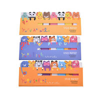 Cute Animals Sticker Bookmark Marker Memo Flags Index Tab Sticky Notes BBUS