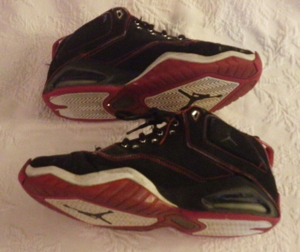 best-selling model of the brand Air Jordan Black Red Men's Shoes Comfortable