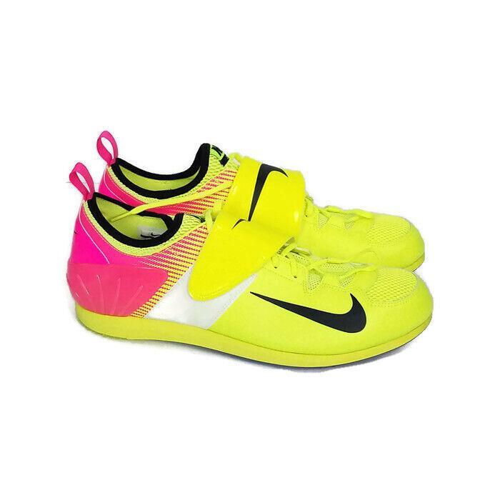 PV Zoom Nike II Vault 14 sz 882011 999 Pink Volt Rio Spikes