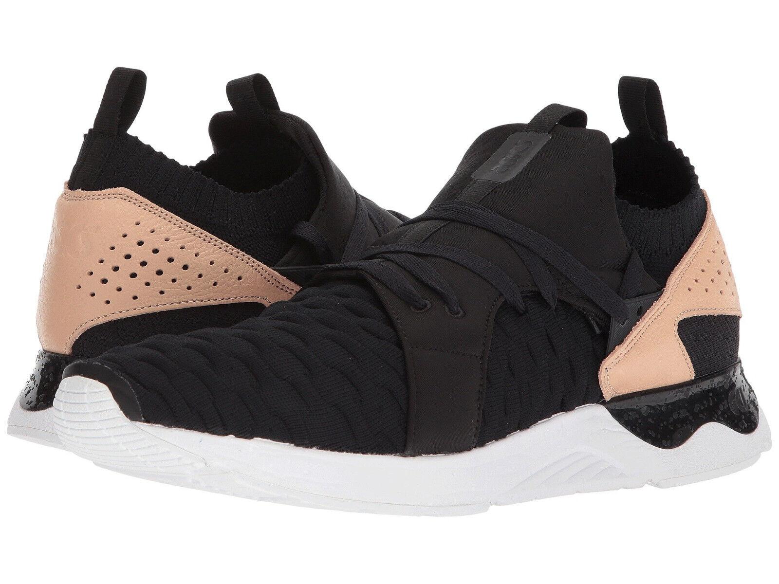 Asics Tiger Men's Gel-Lyte V Sanze Knit US 12 M Black Synthetic Sneakers $160.00