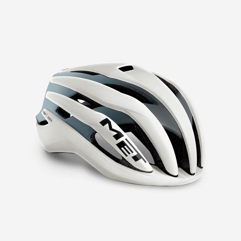 2019 MET Trenta Road Bike Cycling Bicycle Helmet - S M L - Ivory   Shaded Grey
