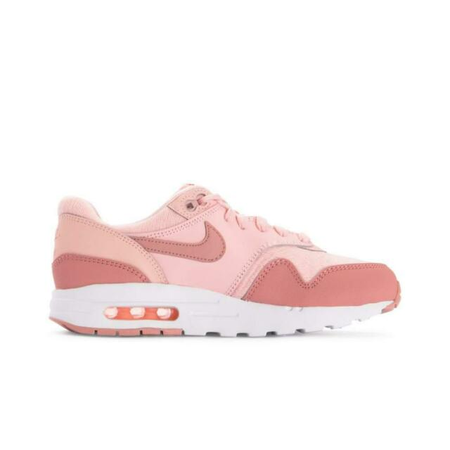 Size 5.5y | 7 Women's Nike Air Max 1 SE Storm Pink Aq3188 600 Casual Running