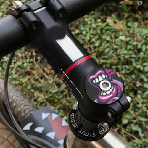 MTB Road Bike Headset Bicycle Stem Top Cap Bowl Covers Aluminum Alloy