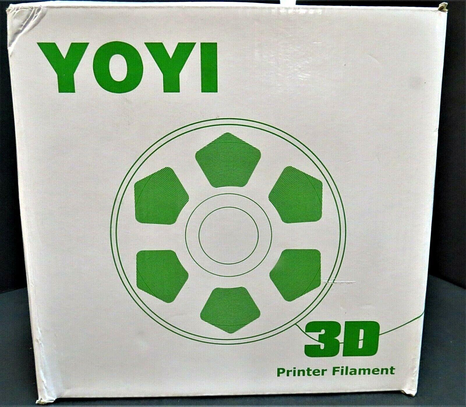 YOYI - Premium 3D Printer Filament Green Dia. 1.75mm Partial Spool