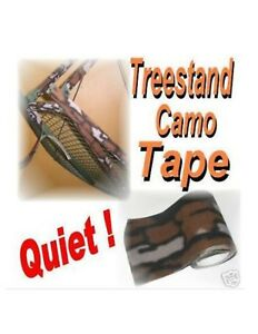 """BARK SKIN TREESTAND Camo Tape 36"""" X 3-3/4"""" QUIETS BOWS GEAR STAND LADDER Blind"""