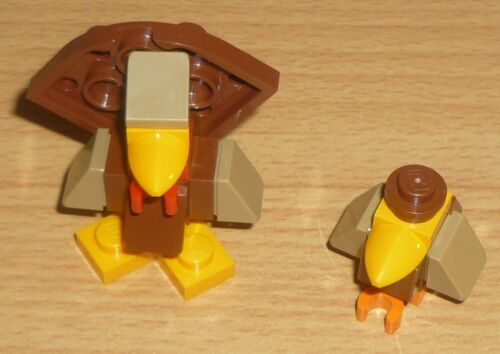 Lego City Truthahn mit Vogel