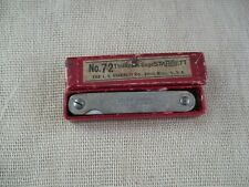 Vintage 72 The Ls Starrett Co Thickness Gage In Original Box Solidampclean