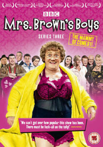 Mrs-Brown-039-s-Boys-Series-3-DVD-2013-Brendan-O-039-Carroll-New-and-Sealed