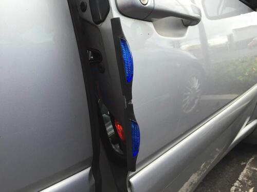Car Door Protector Reflector Prevent Scratches Protect Edges Door Guard Blue LN6