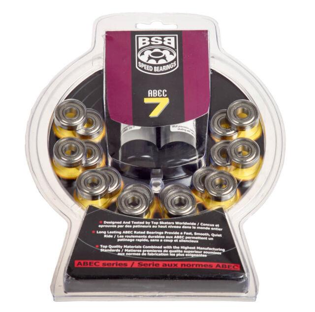 BSB Lager -16 Teile Set - Abec 7  - 608 ZZ   Inliner  Inline Hockey  Rollschuhe