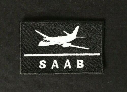 PATCH AVIATION SAAB 340 2000 AIRCRAFT AIRPLANE PILOT CREW IRON ON TURBOPROP JET