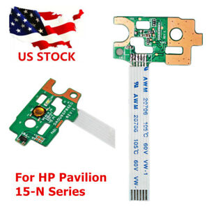 Original New Power Switch Button Board With Cable For Hp Pavilion 15-n 15-f 14-n Series Board Da0u83pb6e0 W/ Ribbon 732076-001 Computer & Office
