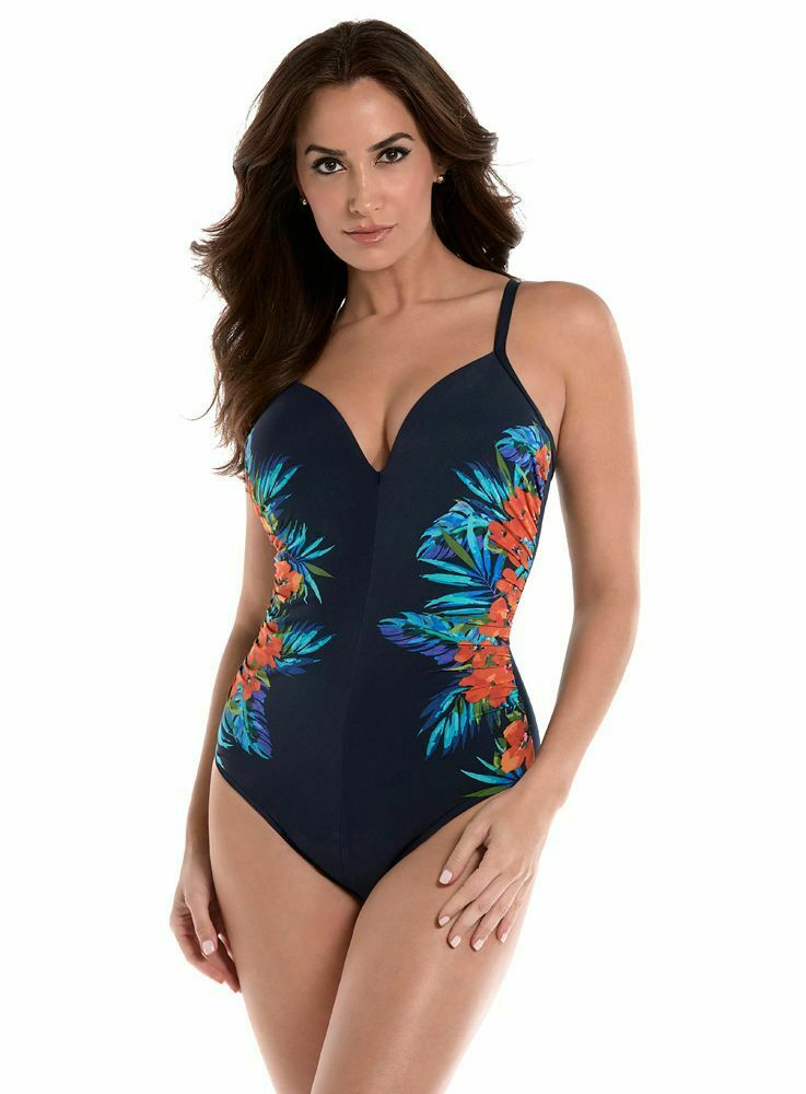 Miraclesuit Swim Temptation Samoan Sunset - Slimming Swimsuit with Firm control