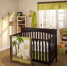 5-Pc Disney Lion King Jungle Wild About You Baby Unisex Crib Bedding Bumper Set
