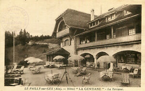 Carte-GEX-Hotel-La-Gentiane-a-Le-Pailly-sur-Gex-La-Terrasse