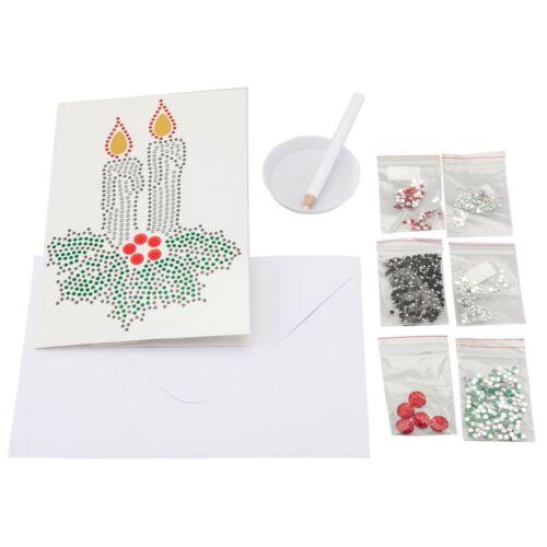 Craft BuddyUS Crystal Card Kit 5D Diamond Painting Greetings Card Kit