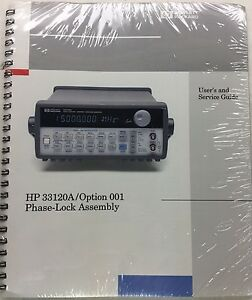 hp 33120a option 001 phase lock assembly user service guide p n rh ebay com Hewlett-Packard 33120A Manual HP Function Generator