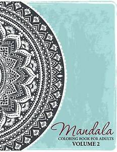 Image Is Loading Mandala Coloring Book For Adults Volume 2
