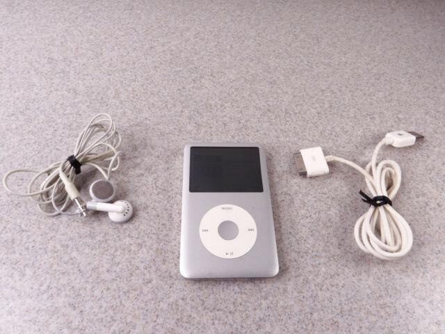 Apple Ipod Classic 7th Generation Silver 160gb Mc293ll A1238 For Sale Online Ebay
