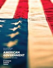 American Government 2014 by Larry J. Sabato, Karen J. O'Connor and Alixandra B. Yanus (2015, Paperback, Revised)