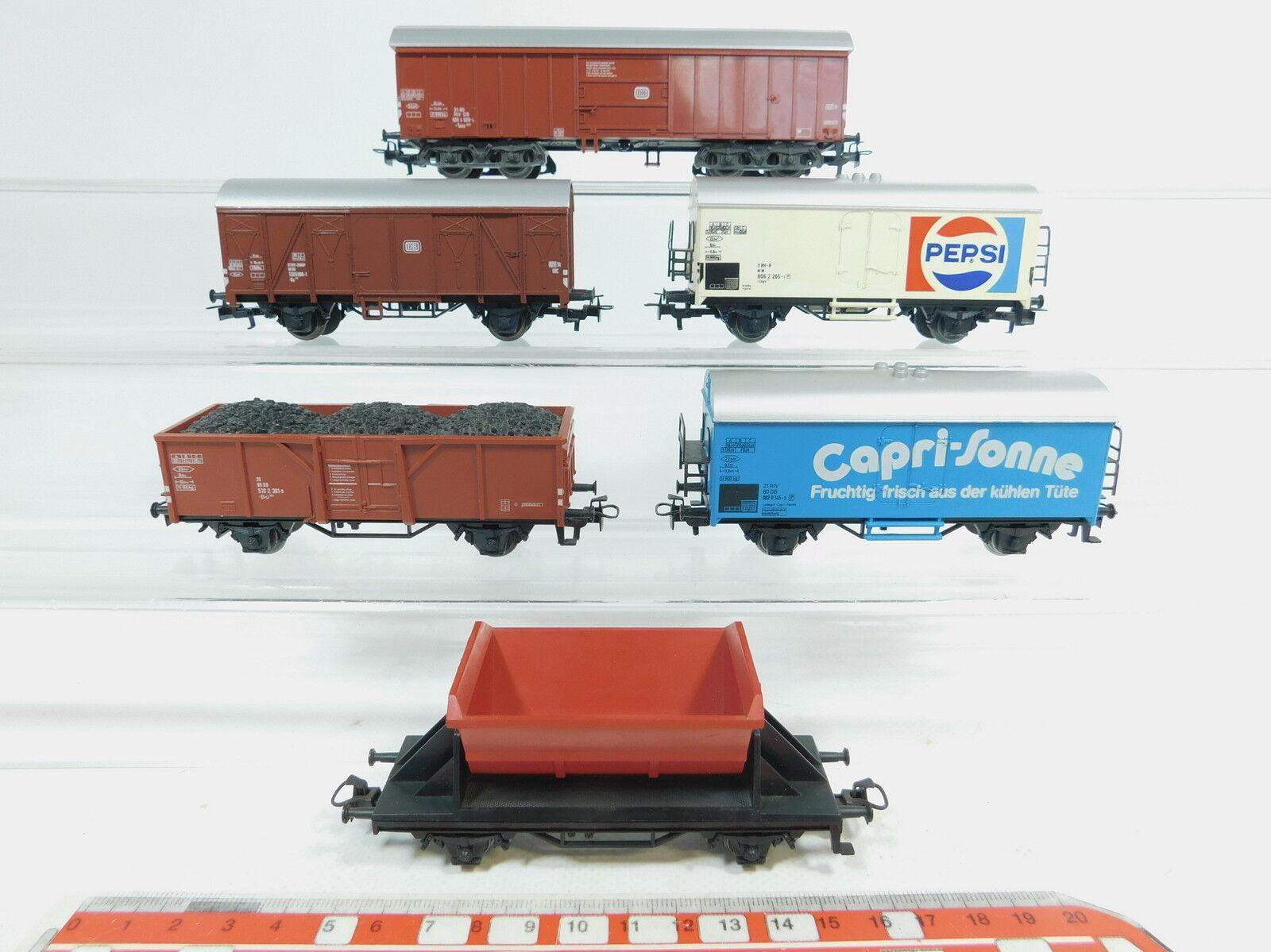 Az338-1x Märklin h0 ac Freight Wagons DB  Capri-Sun +4413+4419 Pepsi etc