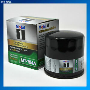 Mobil 1 Oil Filter >> Details About Mobil 1 Genuine New M1 104a Extended Performance Oil Filter 2 Free Gloves