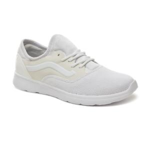 Men's Vans Staple Iso Route Shoes - True White/Antarctica - Sizes 9.5-12